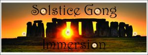 Solstice Gong Immersion