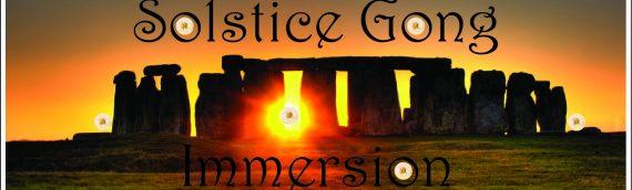 Summer Solstice Gong Immersion – Om Studio Northampton